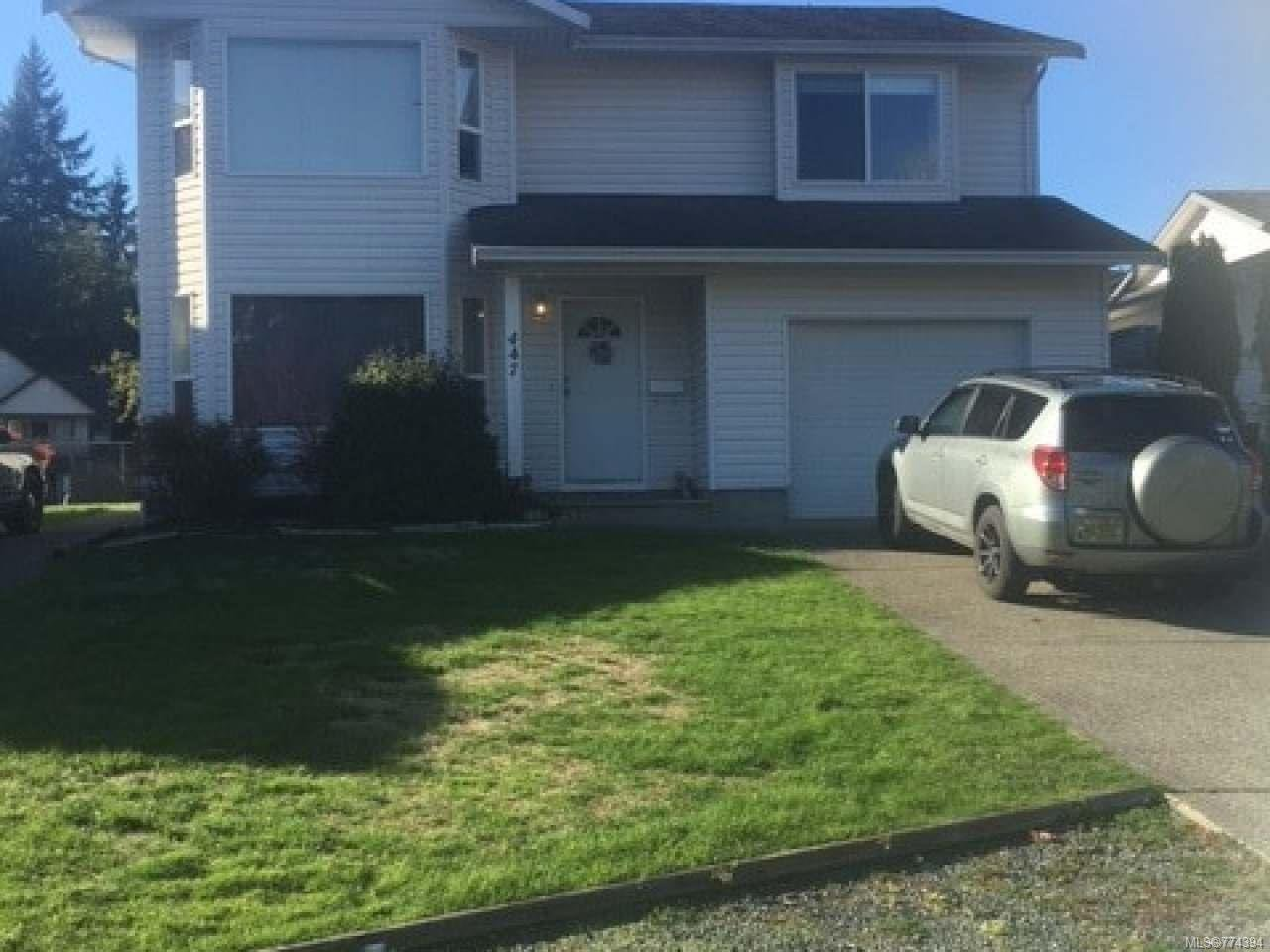 Main Photo: 447 Candy Lane in CAMPBELL RIVER: CR Willow Point House for sale (Campbell River)  : MLS®# 774394