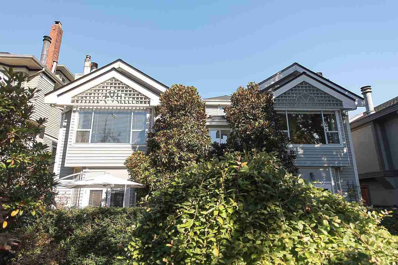 Photo 2: Photos: 1849 W 12TH Avenue in Vancouver: Kitsilano Townhouse for sale (Vancouver West)  : MLS®# R2236443