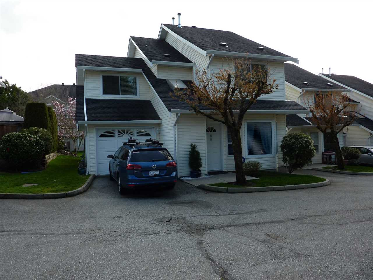 "Main Photo: 13 11588 232 Street in Maple Ridge: Cottonwood MR Townhouse for sale in ""COTTONWOOD VILLAGE"" : MLS®# R2260675"