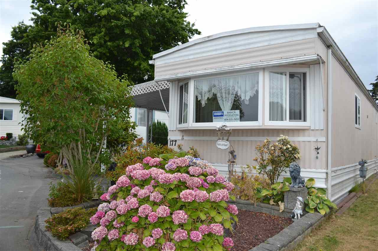 "Main Photo: 177 1840 160 Street in Surrey: King George Corridor Manufactured Home for sale in ""Breakaway Bays"" (South Surrey White Rock)  : MLS®# R2316693"