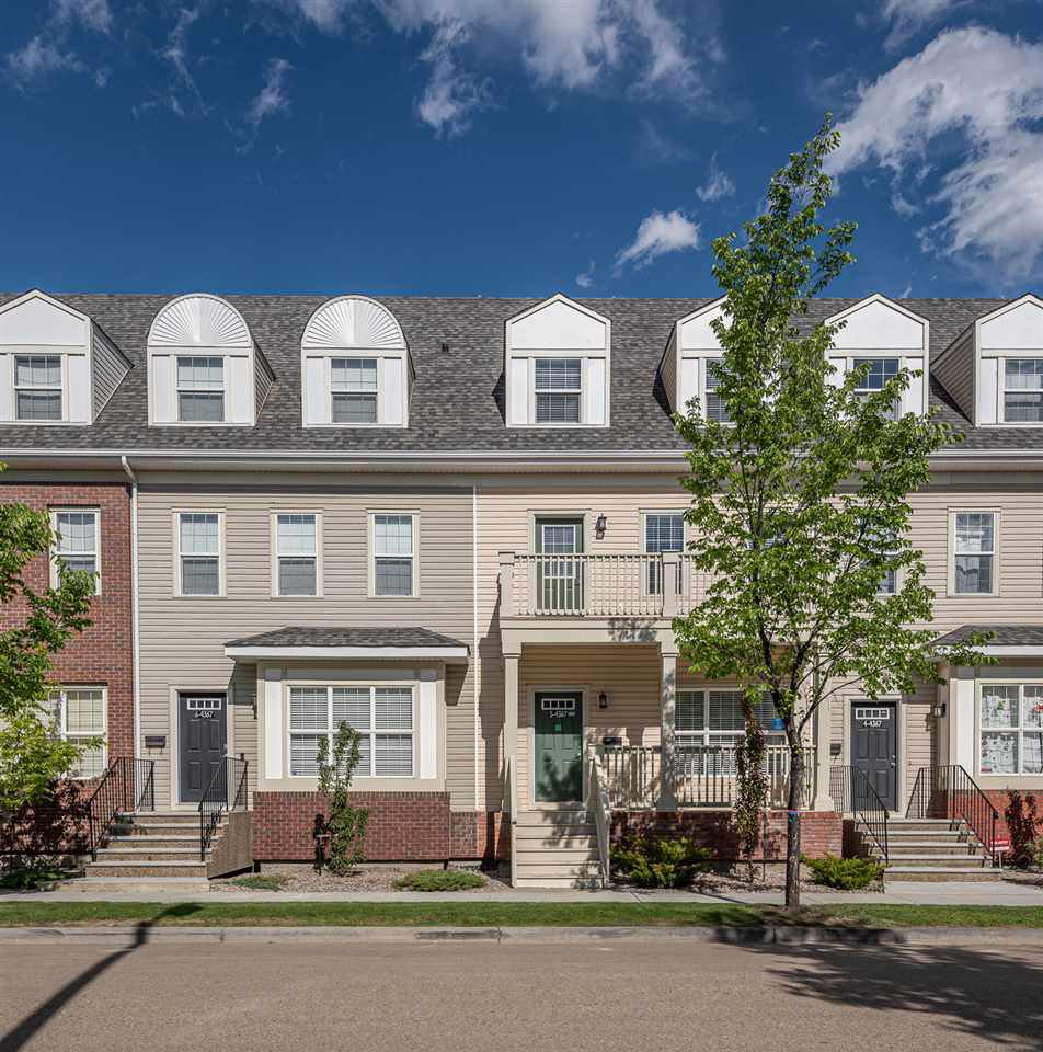 Main Photo: 5 4367 VETERANS Way in Edmonton: Zone 27 Townhouse for sale : MLS®# E4161746
