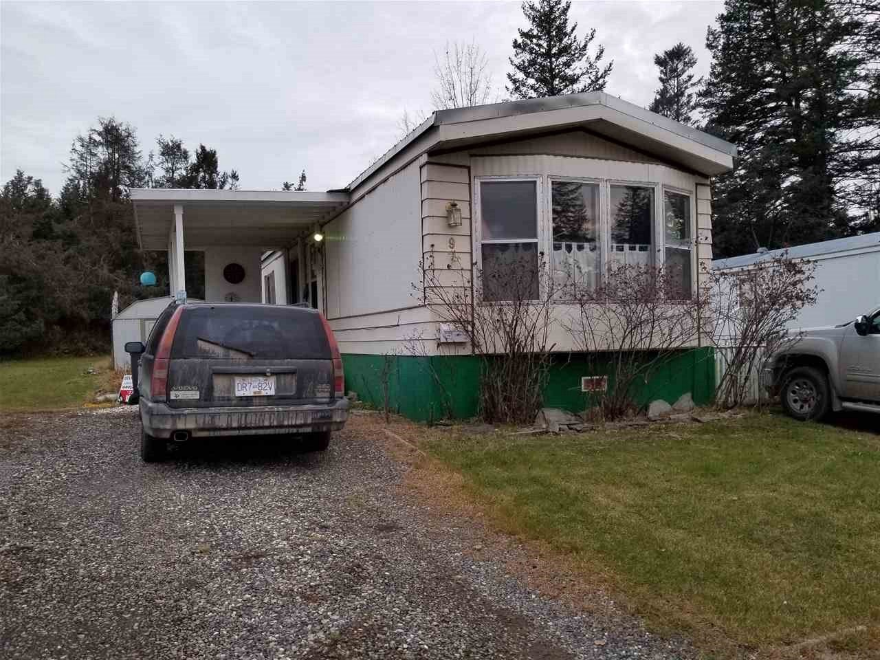 Photo 1: Photos: 9 1265 SOUTH LAKESIDE Drive in Williams Lake: Williams Lake - City Manufactured Home for sale (Williams Lake (Zone 27))  : MLS®# R2414421