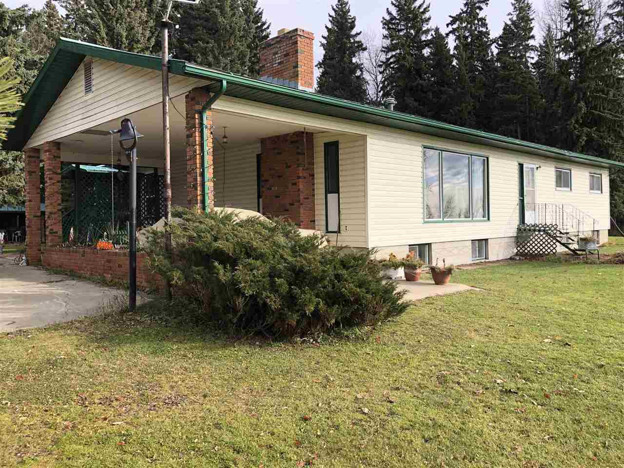 Main Photo: 1005 HWY 663: Rural Westlock County House for sale : MLS®# E4178090