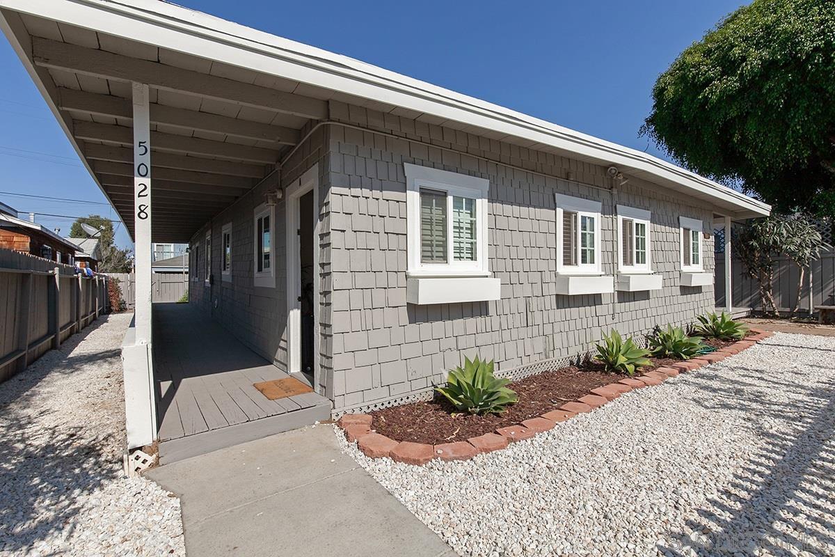 Main Photo: OCEAN BEACH Property for sale: 5028 Muir Ave in San Diego