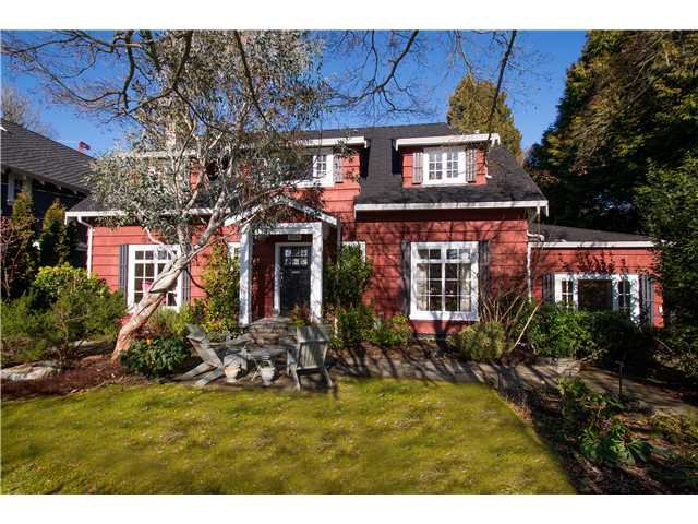 Main Photo: 3161 W 43RD Avenue in Vancouver: Kerrisdale House for sale (Vancouver West)  : MLS®# V1049087