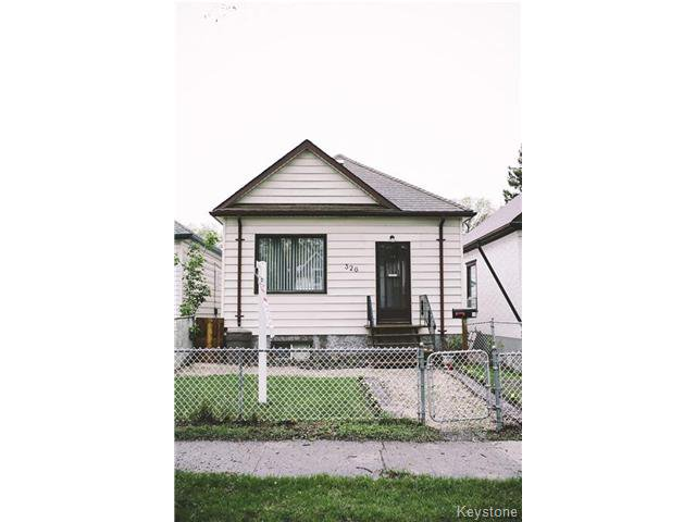 Main Photo: 326 Arnold Avenue in WINNIPEG: Manitoba Other Residential for sale : MLS®# 1513174
