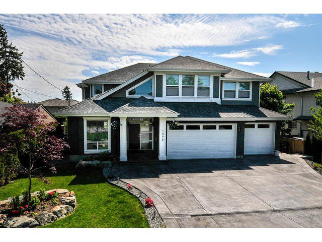 Main Photo: 1496 161 Street in Surrey: King George Corridor House for sale (South Surrey White Rock)  : MLS®# F1441875