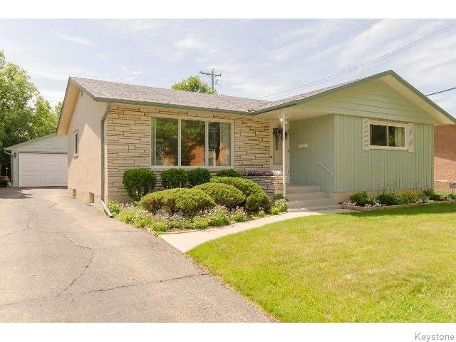 Main Photo: 145 Browning Boulevard in WINNIPEG: Westwood / Crestview Residential for sale (West Winnipeg)  : MLS®# 1515356