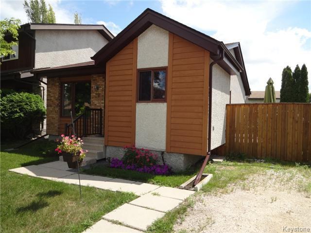 Main Photo: 39 Trowbridge Bay in WINNIPEG: St Vital Residential for sale (South East Winnipeg)  : MLS®# 1520697