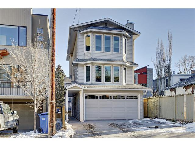 modern 3 story walk up with brand new construction complete on one side, and awaiting new home on the other.