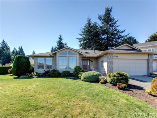 Main Photo: 2513 Emmy Pl in VICTORIA: CS Tanner Single Family Detached for sale (Central Saanich)  : MLS®# 745609