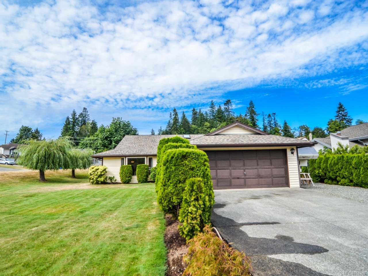 Main Photo: 1894 Whistler Way in CAMPBELL RIVER: CR Willow Point House for sale (Campbell River)  : MLS®# 768317