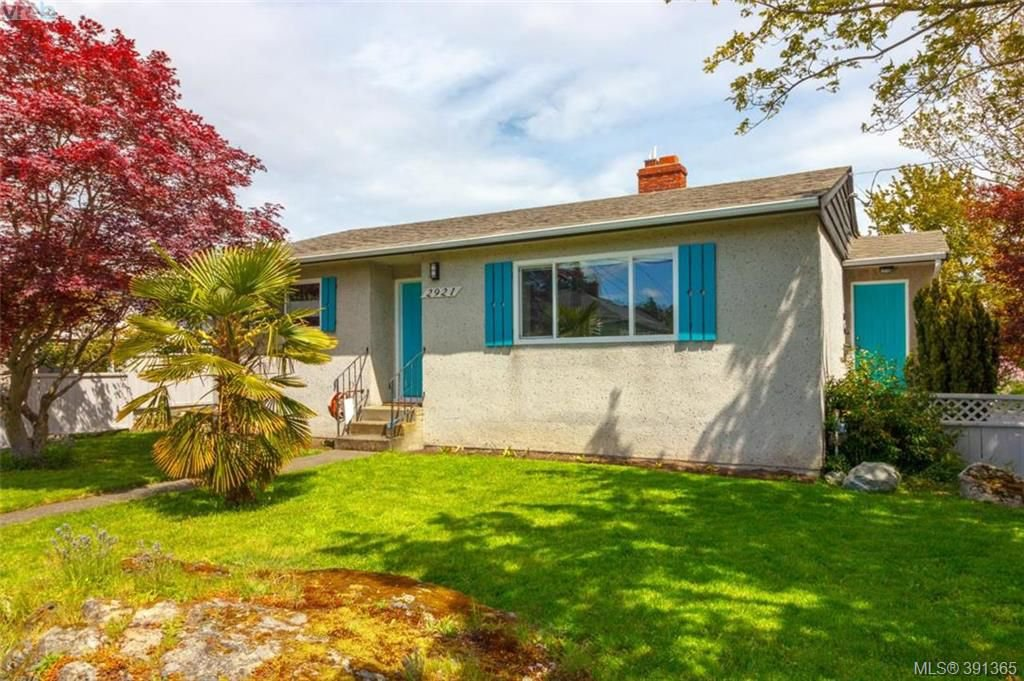 Main Photo: 2921 Gosworth Road in VICTORIA: Vi Oaklands Single Family Detached for sale (Victoria)  : MLS®# 391365