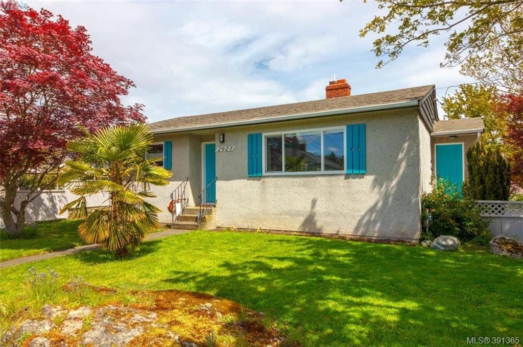 Main Photo: 2921 Gosworth Rd in VICTORIA: Vi Oaklands House for sale (Victoria)  : MLS®# 786626