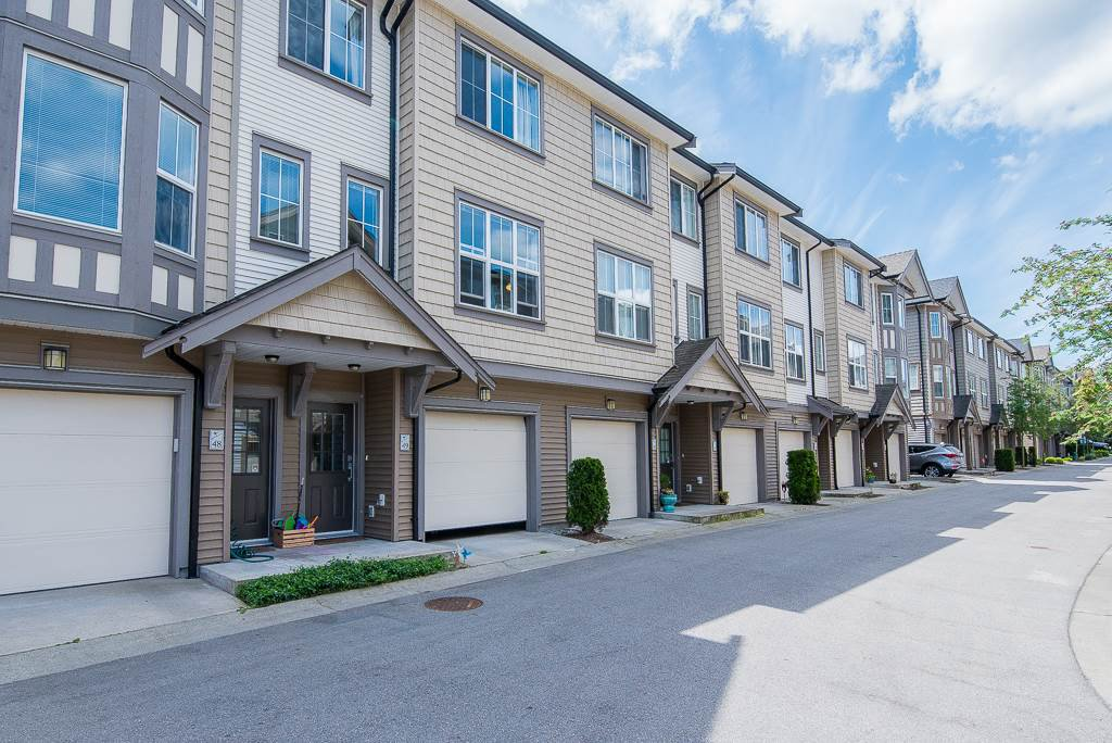 "Main Photo: 49 14838 61 Avenue in Surrey: Sullivan Station Townhouse for sale in ""SEQUOIA"" : MLS®# R2275417"