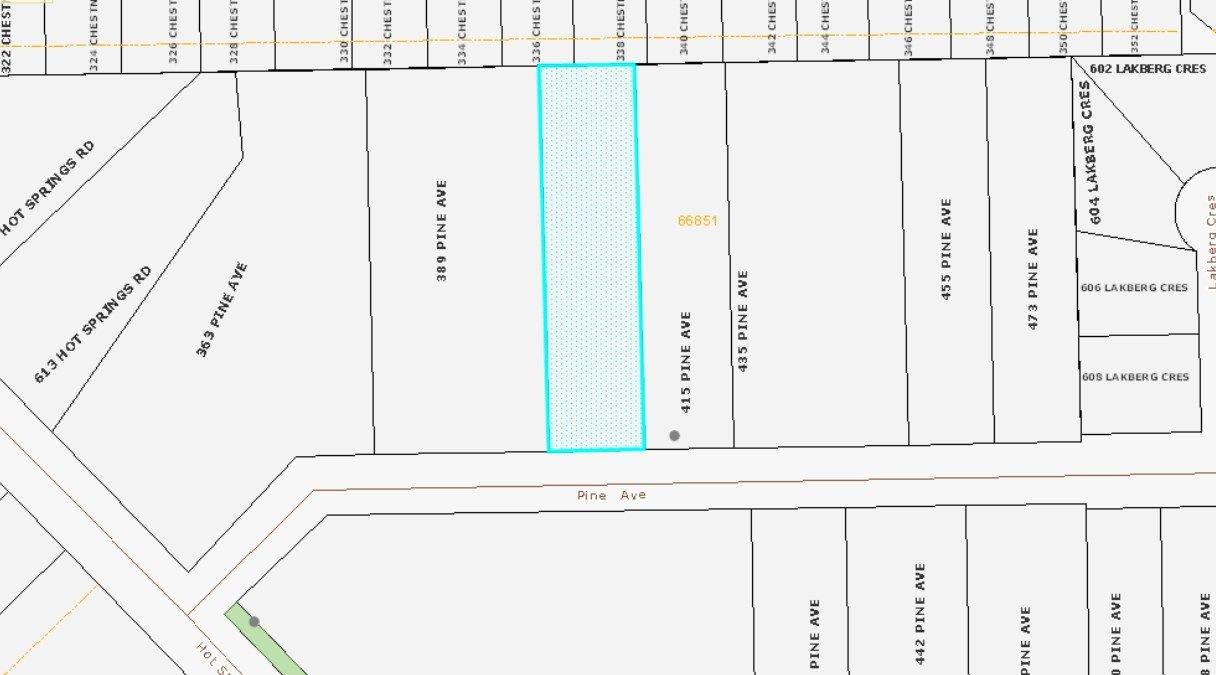 Main Photo: 395 PINE Avenue: Harrison Hot Springs Land for sale : MLS®# R2302061