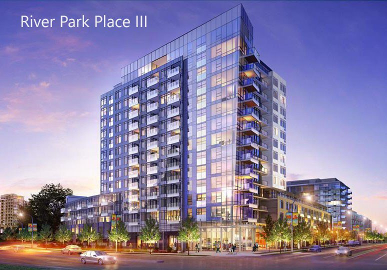 """Main Photo: 1402 5400 HOLLYBRIDGE Way in Richmond: Brighouse Condo for sale in """"River Park Place II"""" : MLS®# R2336010"""
