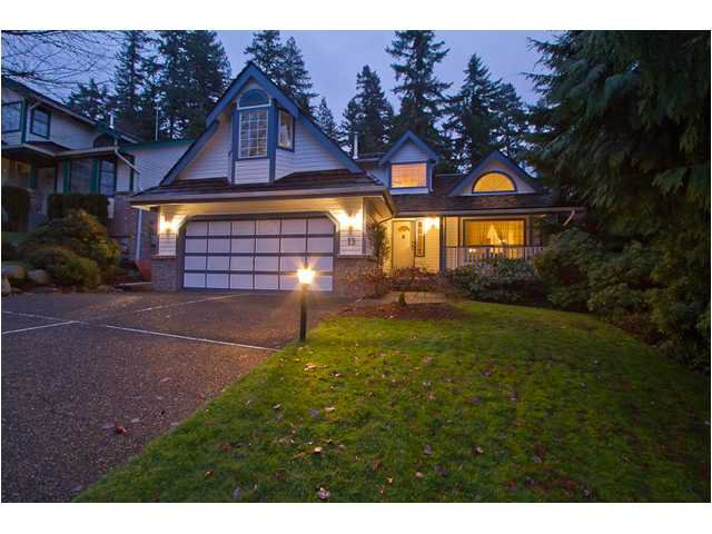 Main Photo: 13 PARKGLEN Place in Port Moody: Heritage Mountain House for sale : MLS®# V925884