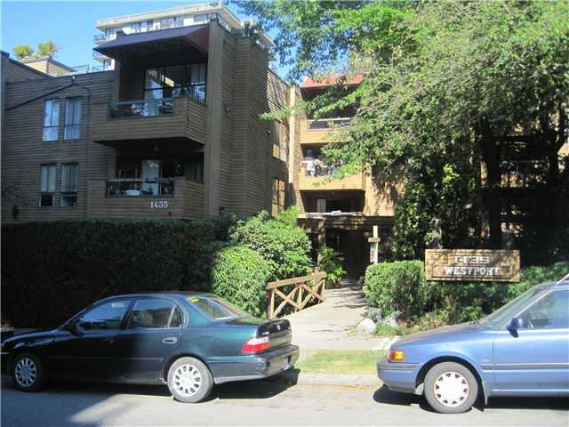 Main Photo: 310 1435 NELSON Street in Vancouver: West End VW Condo for sale (Vancouver West)  : MLS®# V969317