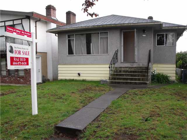 Main Photo: 1080 55th Avenue in Vancouver: House for sale (Vancouver East)  : MLS®# V825156