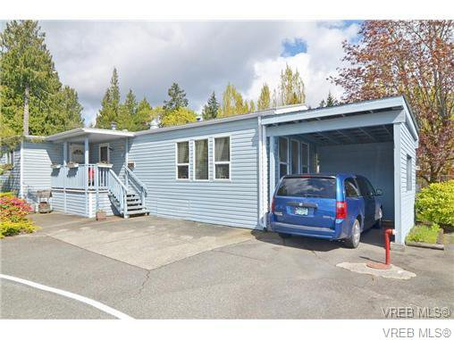 Main Photo: 63 2911 Sooke Lake Rd in VICTORIA: La Goldstream Manufactured Home for sale (Langford)  : MLS®# 700873