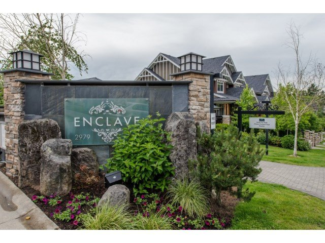 """Main Photo: 110 2979 156 Street in Surrey: Grandview Surrey Townhouse for sale in """"ENCLAVE"""" (South Surrey White Rock)  : MLS®# R2074155"""