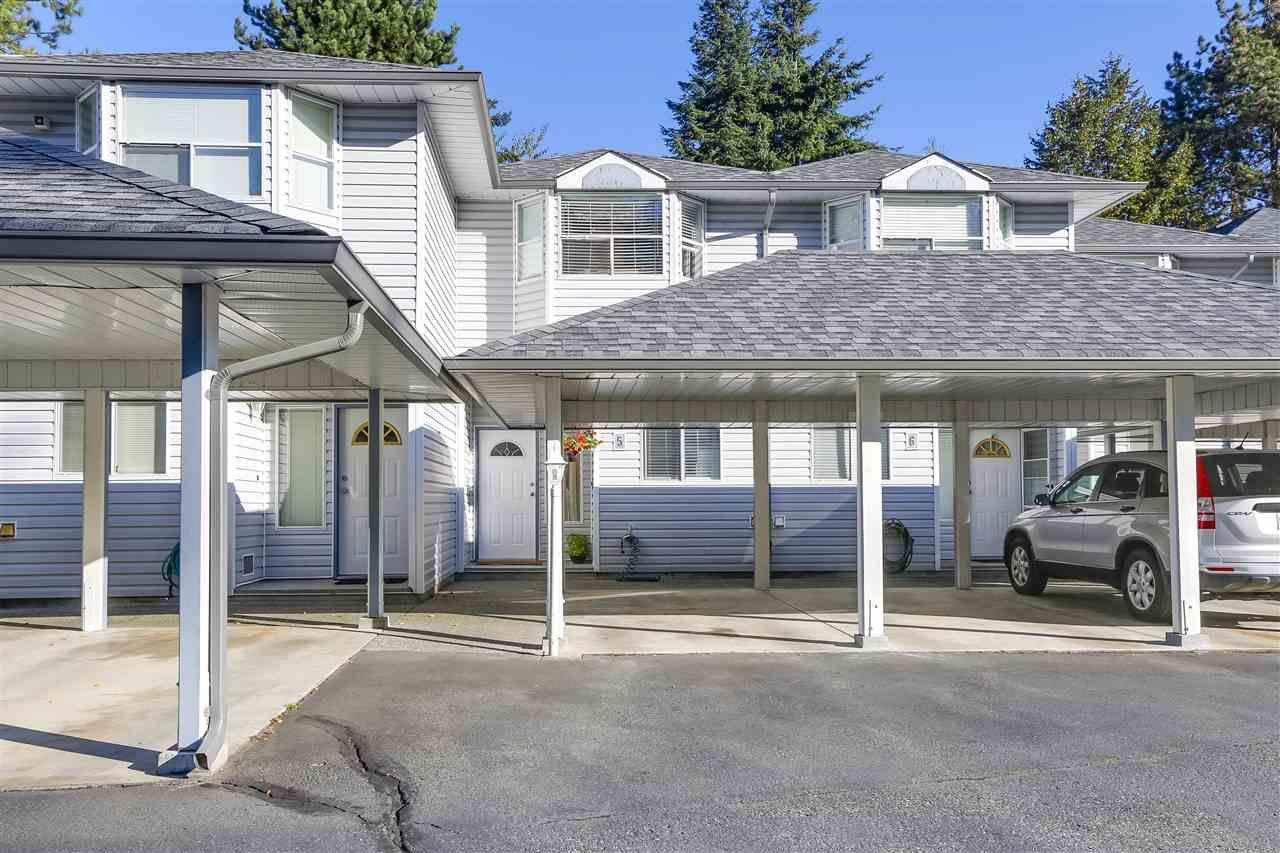 Main Photo: 5 1406 BRUNETTE Avenue in Coquitlam: Maillardville Townhouse for sale : MLS®# R2211104