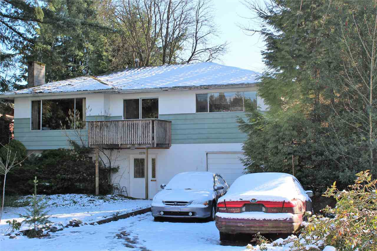 Main Photo: 2274 WARRENTON AVENUE in Coquitlam: Central Coquitlam House for sale : MLS®# R2242409