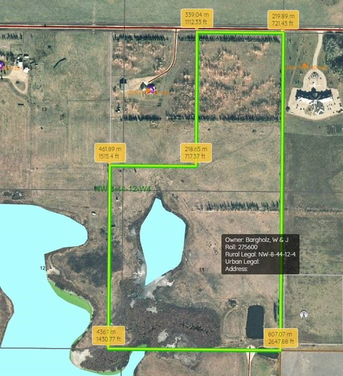 Main Photo: RR 124 TWP 442: Rural Flagstaff County Rural Land/Vacant Lot for sale : MLS®# E4149397