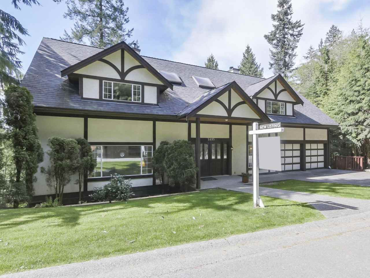 "Main Photo: 5495 KEITH Road in West Vancouver: Caulfeild House for sale in ""Past Montiverdi Estates"" : MLS®# R2363990"