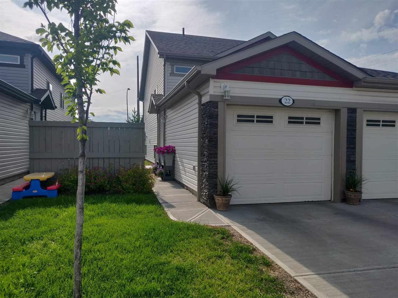 Main Photo: 22 6520 2 Avenue in Edmonton: Zone 53 House Duplex for sale : MLS®# E4159278
