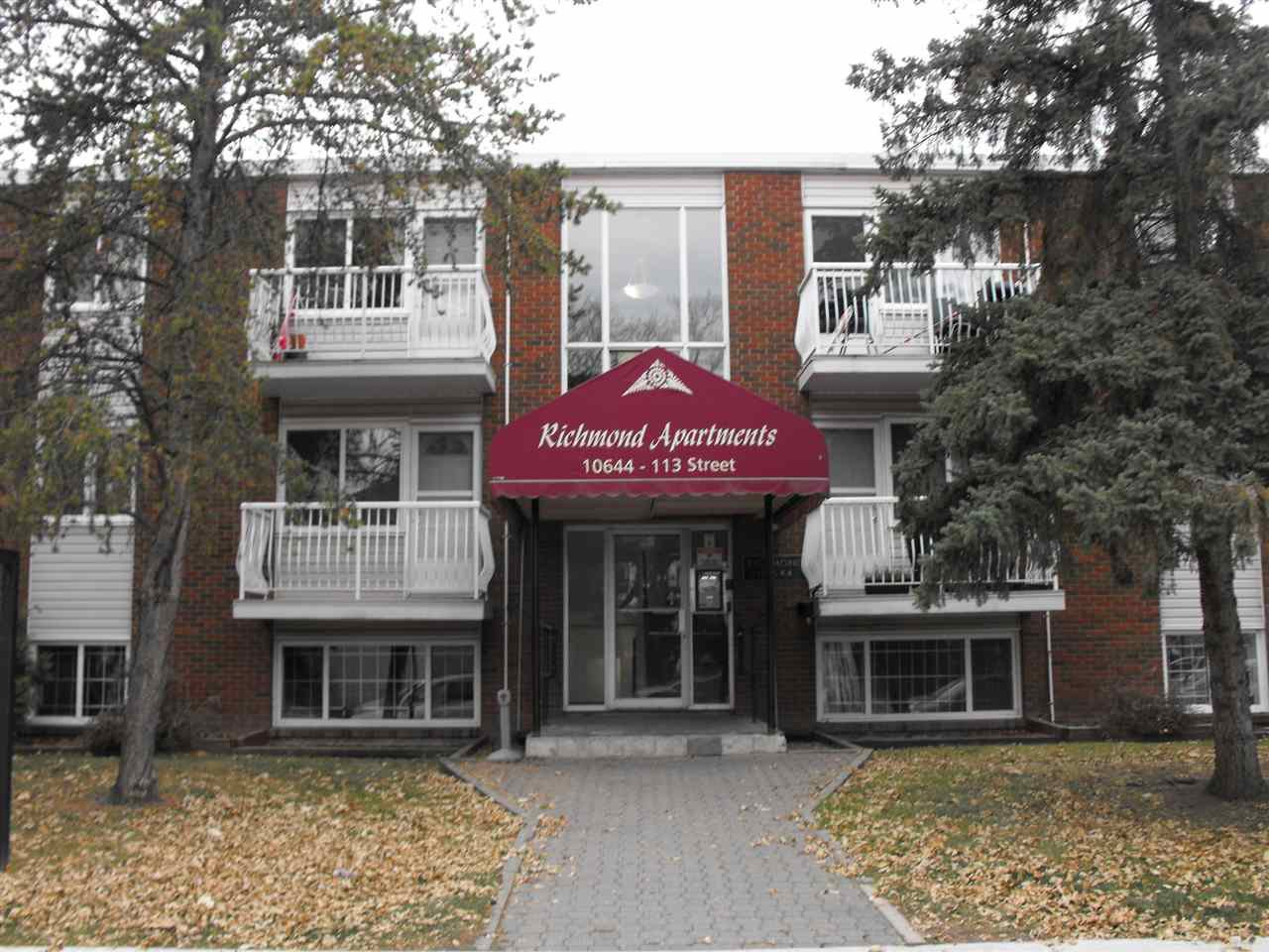Main Photo: 202 10644 113 Street in Edmonton: Zone 08 Condo for sale : MLS®# E4178973