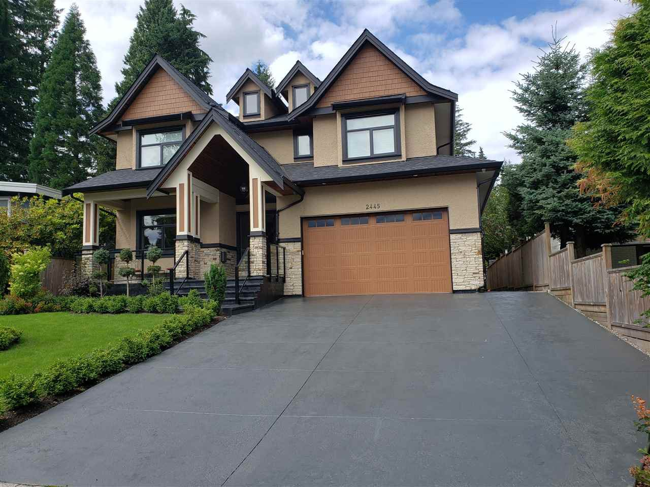 Main Photo: 2445 HAVERSLEY AVENUE in Coquitlam: Central Coquitlam House  : MLS®# R2459123