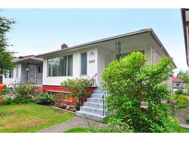 Main Photo: 5851 MCKINNON Street in Vancouver: Killarney VE House for sale (Vancouver East)  : MLS®# V891498