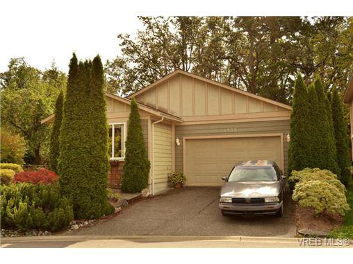 Main Photo: 4131 Rockhome Gdns in VICTORIA: SE High Quadra House for sale (Saanich East)  : MLS®# 713784