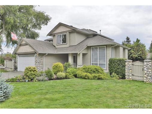 Main Photo: 1619 Nelles Place in VICTORIA: SE Gordon Head Single Family Detached for sale (Saanich East)  : MLS®# 366811