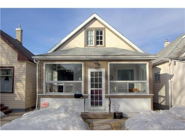 Main Photo: 627 Cathedral Avenue in Winnipeg: Sinclair Park Residential for sale (4C)  : MLS®# 1706056