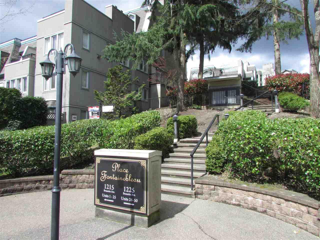 Main Photo: 13 1215 BRUNETTE Avenue in Coquitlam: Maillardville Townhouse for sale : MLS®# R2258520