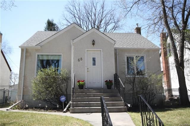 Main Photo: 68 Newton Avenue in Winnipeg: Scotia Heights Residential for sale (4D)  : MLS®# 1811876