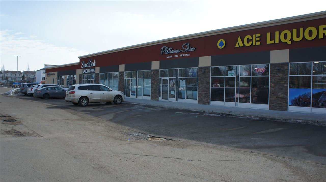 Main Photo: 307 10451-99 Avenue: Fort Saskatchewan Retail for sale or lease : MLS®# E4142583