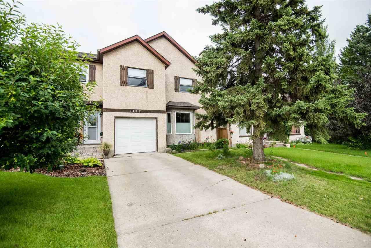 Main Photo: 1138 62 Street in Edmonton: Zone 29 House Half Duplex for sale : MLS®# E4168458