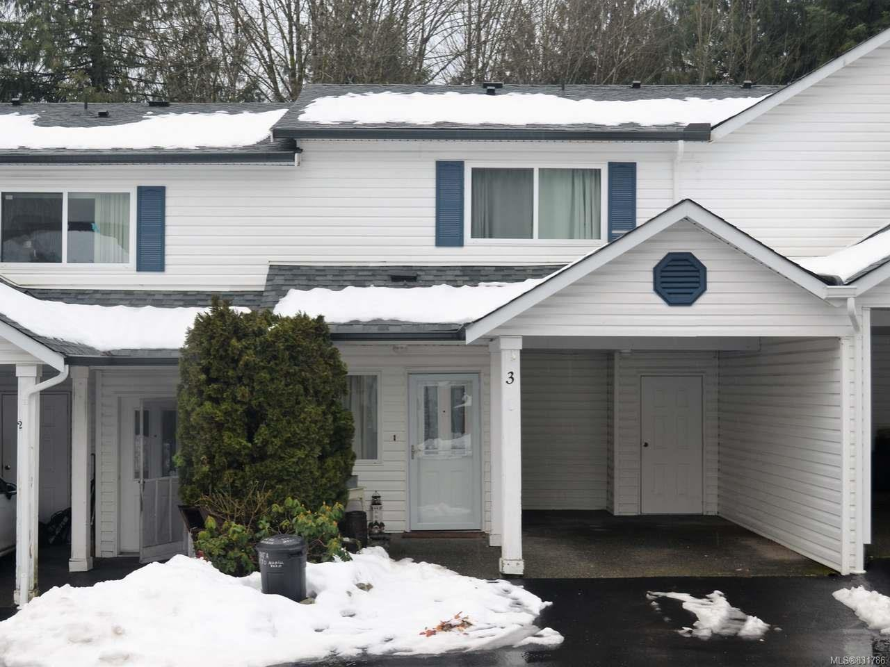 Main Photo: 3 215 Madill Rd in LAKE COWICHAN: Du Lake Cowichan Row/Townhouse for sale (Duncan)  : MLS®# 831786