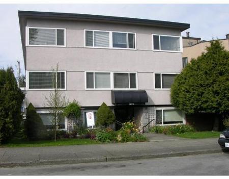 Main Photo: # 103 1075 W 13TH AVENUE, VANCOUVER, B.C. in Vancouver: Condo for sale (Canada)  : MLS®# V703933