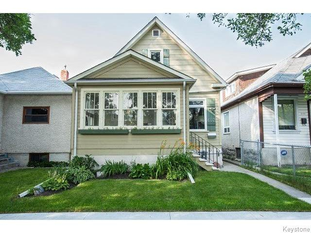 Main Photo: 607 Atlantic Avenue in Winnipeg: Residential for sale : MLS®# 1519197
