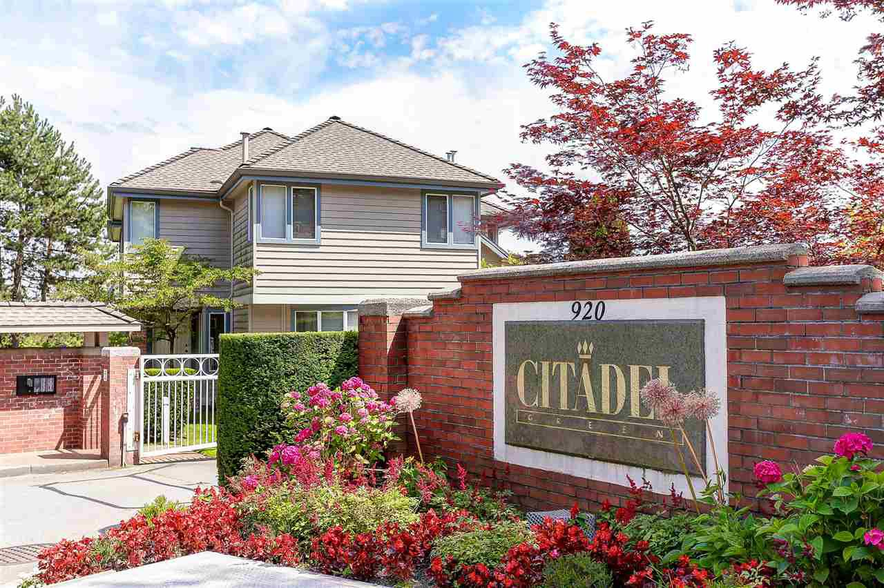"Main Photo: 9 920 CITADEL Drive in Port Coquitlam: Citadel PQ Townhouse for sale in ""CITADEL GREEN"" : MLS®# R2084564"
