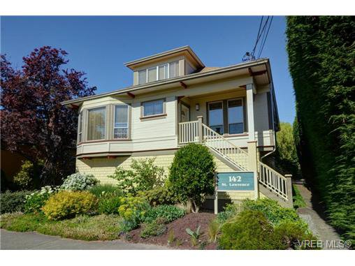 Main Photo: C 142 St. Lawrence St in VICTORIA: Vi James Bay Row/Townhouse for sale (Victoria)  : MLS®# 738005