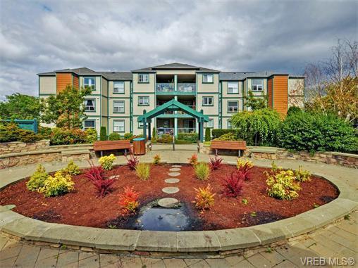 Main Photo: 206 894 Vernon Ave in VICTORIA: SE Swan Lake Condo for sale (Saanich East)  : MLS®# 744994