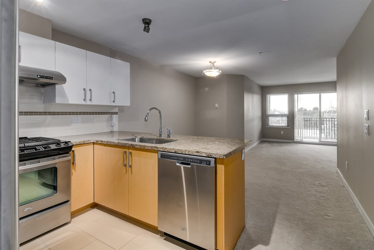 "Main Photo: 320 6828 ECKERSLEY Road in Richmond: Brighouse Condo for sale in ""SAFFRON"" : MLS®# R2130056"