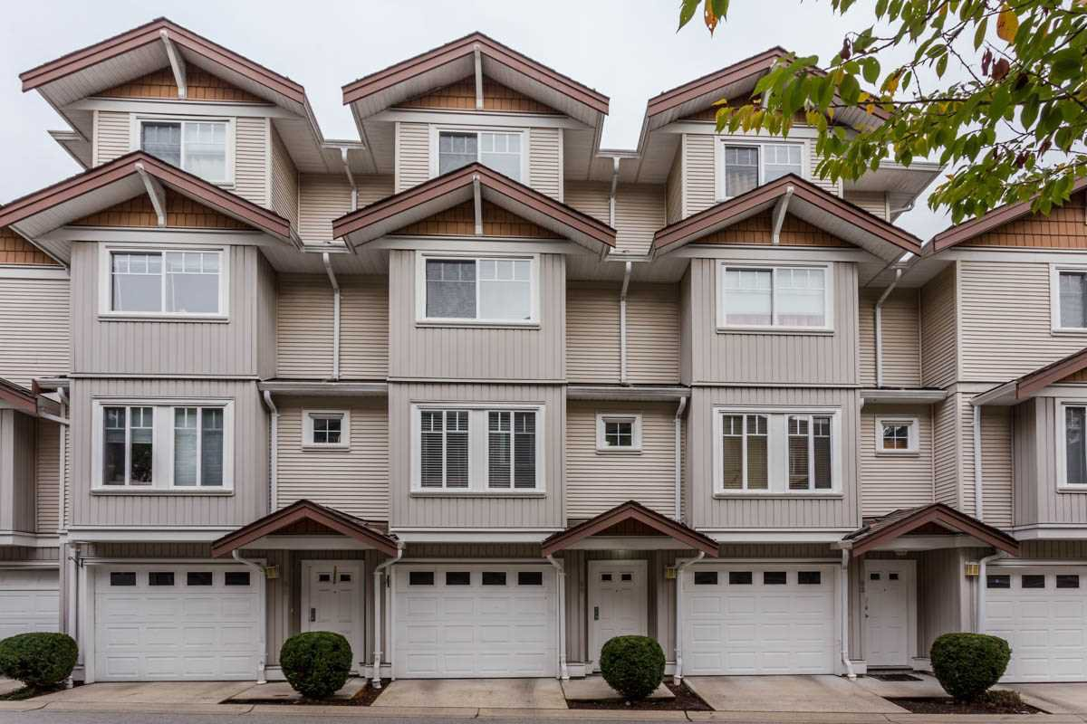 "Main Photo: 89 12711 64 Avenue in Surrey: West Newton Townhouse for sale in ""Pallette On The Park"" : MLS®# R2216923"