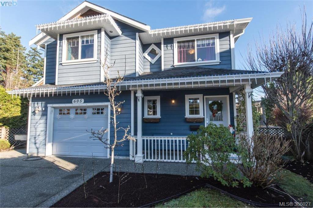 Main Photo: 605 Hammond Crt in VICTORIA: Co Triangle House for sale (Colwood)  : MLS®# 775728